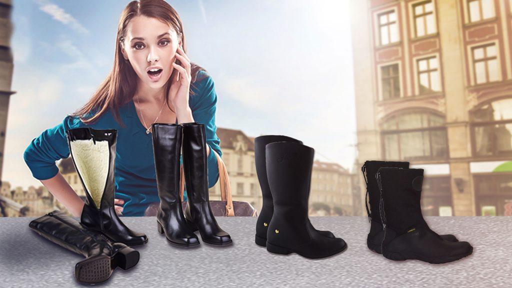 7918045d31e79 Além de conforto as botas proporcionam glamour ao seu look.