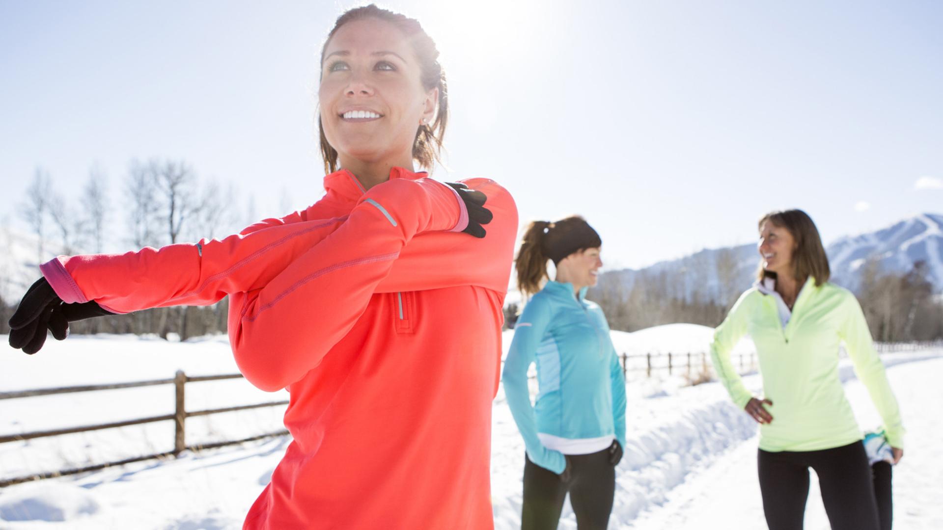 A malha térmica absorve o calor e o retém em nosso corpo