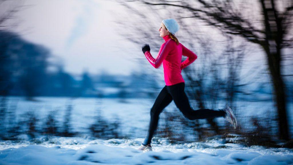 A malha térmica e essencial para prática de esporte na neve.