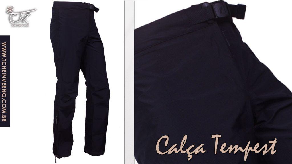 Para brincar na neve ou para frios mais intensos, é preciso usar no lugar do jeans uma calça impermeável.