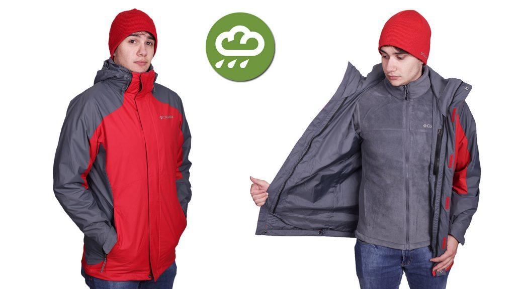 Os anoraks são casacos mais robustos, geralmente são vendidos em peças 3x1.
