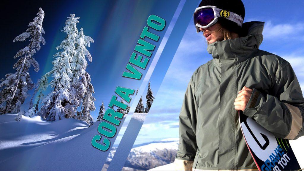 Os casacos corta vento são ideais para os dias de extremo frio.