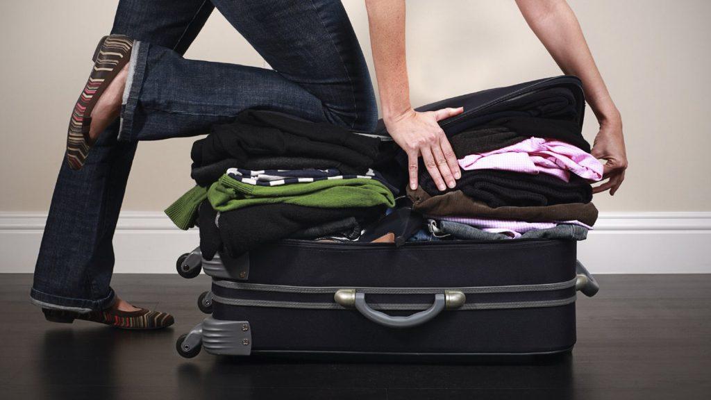 Um mala bem organizada já é meio caminho andado