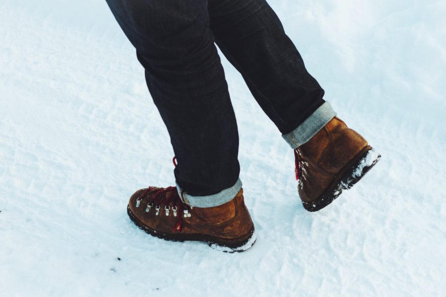 bota para neve impermeável