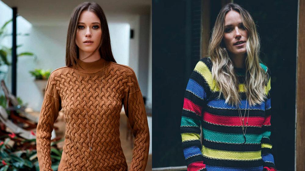 blusas trico - tche inverno