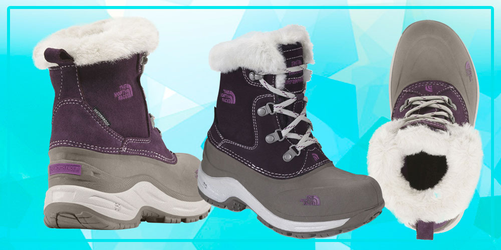 bota the north face infantil - tche inverno