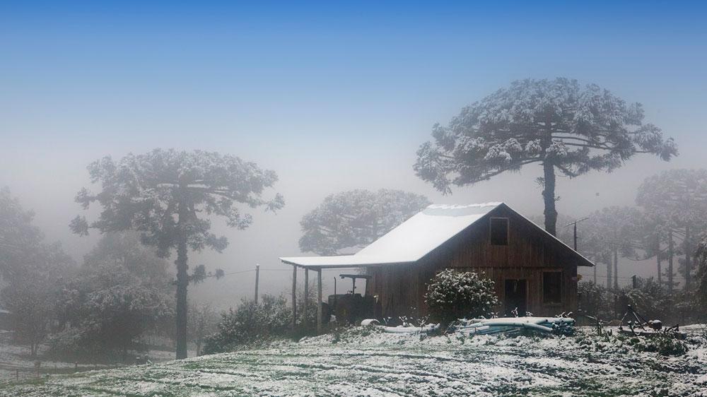 viagem neve serra gaucha - tche inverno