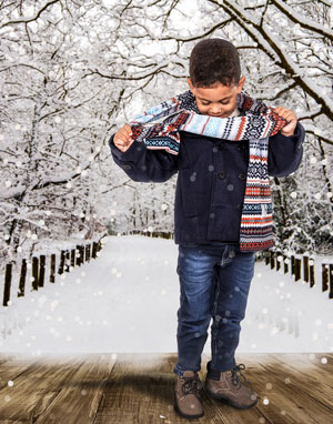 acessorios roupas frio criança - tche inverno