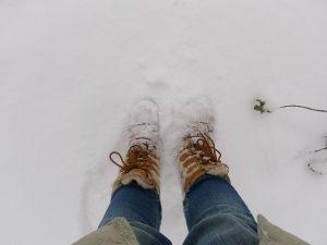 como aquecer os pés no inverno
