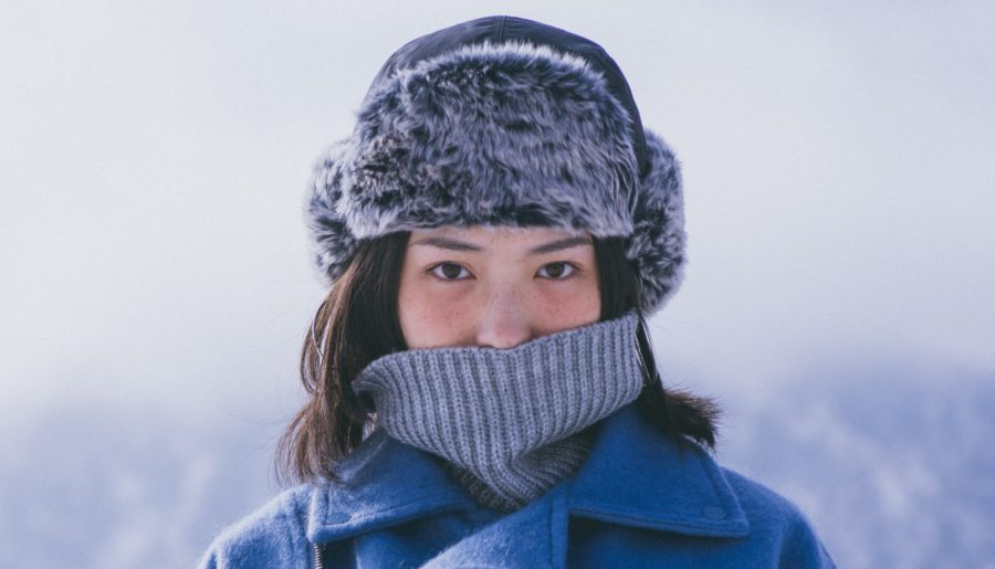 Protetor de orelha para frio