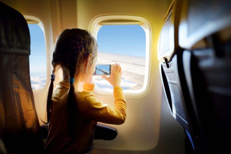 regras para viajar com crianças