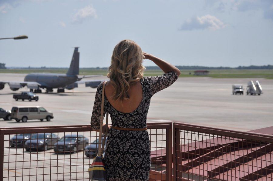 Look para viajar de avião