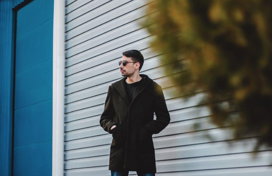 casaco longo masculino